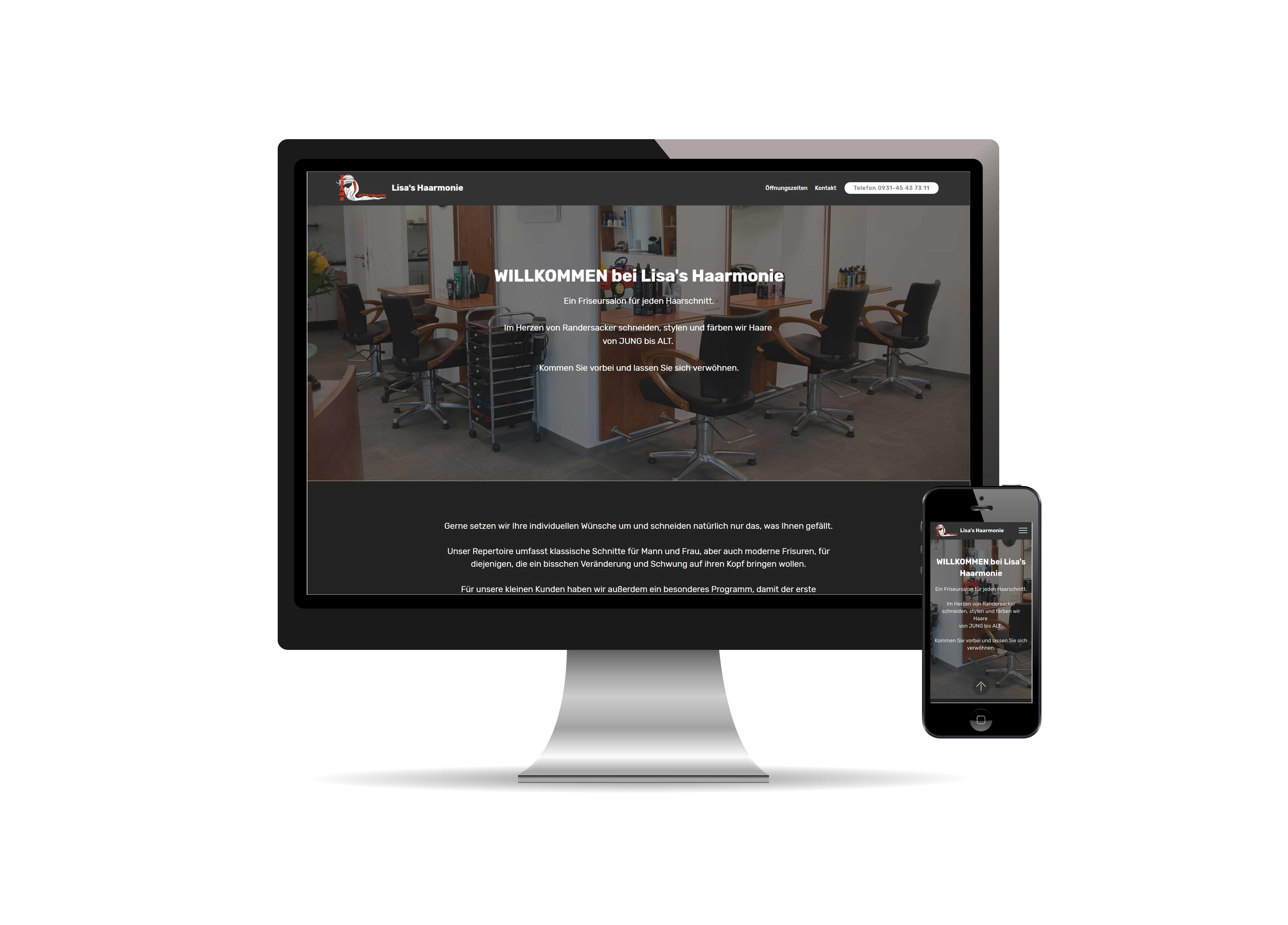 Lisa-Haarmonie-Homepage-Internet
